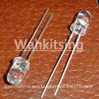 1000 PCS LED 5MM 2 Pin Round Red Superbright LED Light Emitting Diode Lamp