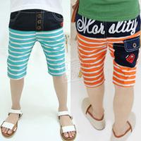2013 summer letter boys clothing baby child capris 5 pants kz-1733 (CC019)