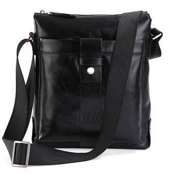 Free shipping!!2013 high quality genuine cowhide leather casual man bags men's handbags Messenger Bag  7151