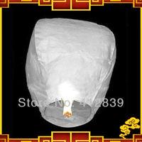 Free shipping,5pcs White sky Balloon Kongming Lanterns,Flying Light Halloween Lights,Chinese sky Lantern Factory Direct Sale