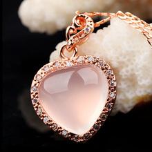 rose quartz heart pendant price