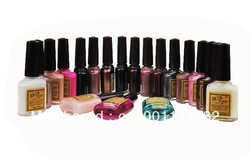 Wholeale!!!1 Skin Food Vitamin Nail Polish 27 Colors for Beautys!!!(China (Mainland))