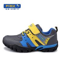Spring comfortable light child wear-resistant breathable male child children shoes sneaker blue