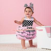 New Arrival 2013 Baby's Summer Dress Lovely Girl's Dresses Lace Pettiskirts Cake Dress Children Ribbon Ruffle Sundress