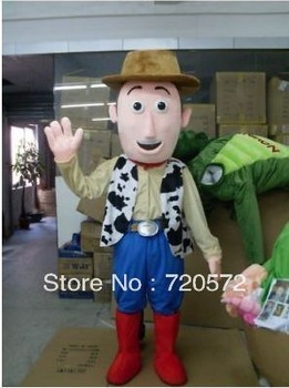 High quality  the new toy story woody mascot costume birthday party dress masquerade ball free shipping