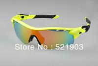 Radar lock Path radarlock Men sunglasses / 5 pairs lens cycling glasses year gift sport sunglasses