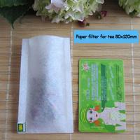 100pcs/LOT Heat sealing filter paper tea bag 120X 180mm empty tea bag,paper filters for tea, Herb bags