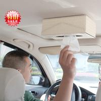Car tissue box car ceiling paper pumping box car pumping paper box car tissue box exhaust pipe supplies