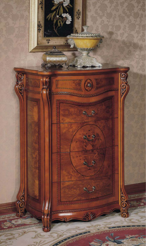 Solid Wood Chest of Drawers Five Drawer Cabinet(China (Mainland))