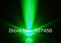 100pcs/lot free shipping!!! 3mm flashing Green LED(10000mcd)3mm blinking green led
