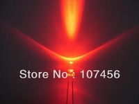 100pcs/lot free shipping!!! 3mm flashing Red LED(5000mcd)3mm blinking red