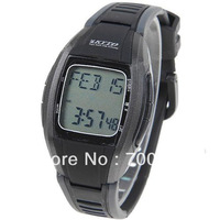 Freeshipping+2013 New Waterproof HRM-2803 Multifunctional Stopwatch with Wireless Pulse Heart Rate Monitor Sports Wrist Watch