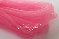 Skinny 8mm wide Tubular Crin polyester tube Millinery Hat Trim - Pink 30 yard/lot