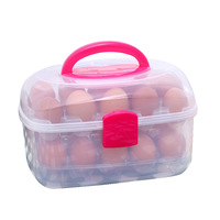 2012 new arrival double layer 30 eggs egg box storage box