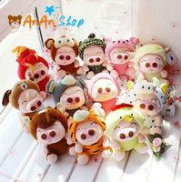 12pcs New Cute Stuffed Animal Doll 8'' Plush Mcdull Pig Chinese Zodiac Soft Toy Birthday Christmas Gift For Kids Baby Girlfriend