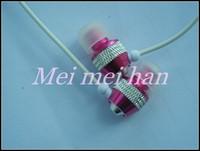 Free shipping 50pcs/lot metal ear stereo earphones D9 applicable MP3/MP4 / computer / walkman 4 colors High popular