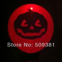 50 pcs/Lot, Free Shipping, Led Light Flashing Balloons,  Halloween Pumpkin Style. Festival Balloons, Holiday Decoration.Orange