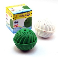Eco-Friendly Green Laundry Ball Anion Molecules Cleaning Magic Wash Washing ID:2013040703