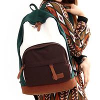 Fashion women's handbag double-shoulder canvas bag canvas bag travel bag backpack school bag