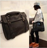 2013 spring the trend vintage messenger bag briefcase all-match messenger bag big bag female bags