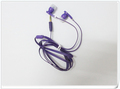 2013 hot sale earphones headphones with MIC+logo and retail PVC plastic bag support dropshipping