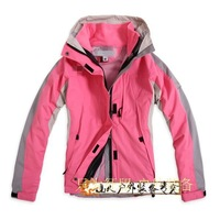 Free shipping Outdoor outdoor jacket Women twinset fleece liner winter clothes waterproof jacket