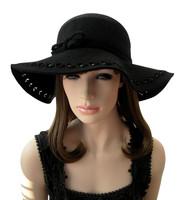 Empty thread beads - ihat wool hat fedoras cap billycan 12 autumn and winter women's