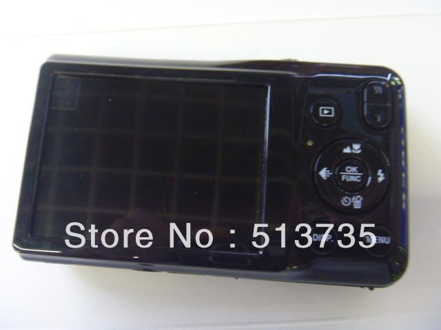 free shipping E500 Retractable lens digital camera high quality cheap camera