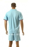 new  13 - 14 France blank T-SHIRT soccer jersey blue   season  national team jerseys cheap  hot sell good