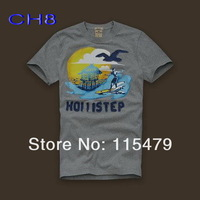 2013 - round neck short-sleeve new trend of men's short-sleeved cotton, brand men's T-shirt, wholesale and retail