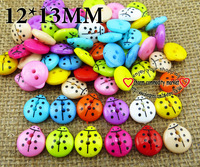 200PCS mixed color MIXED PATTERN plastic cartoons cloth  buttons WHOSALE BOTTON BULK  jewelry accessory P-100