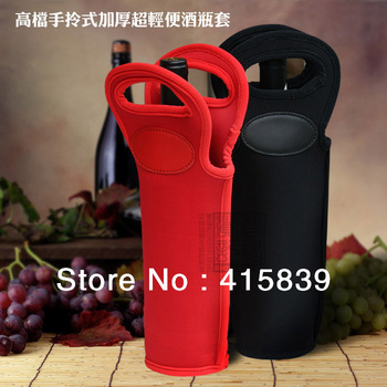 free shipping 5pcs household general red wine set protective case wine sets wine case wine bottle bag