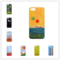 1PC Jimmy Cartoon Cases For IPhone5 Hard Back Cover For IPhone 5+36 Colors+Free Shipping