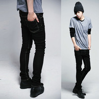 The trend of fashion 2013 men's summer clothing slim skinny jeans pants trousers denim Men hot-selling