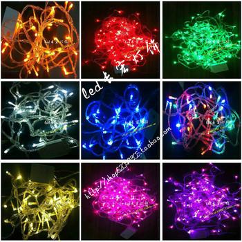 Glue waterproof outdoor led lantern flasher lamp set christmas lighting string decoration lamp copper line