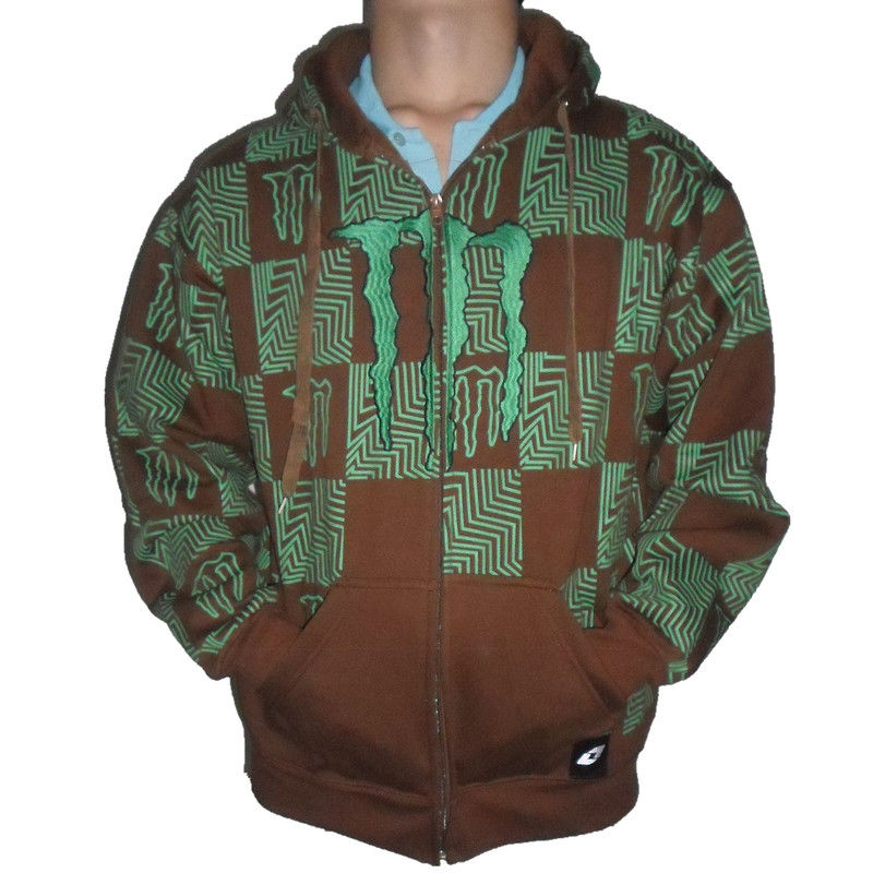 Free shipping Wholesale 2013 New design fashion monster men's loose jacket special men's camping hiking coat with blue tag(China (Mainland))