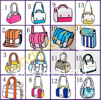 Free shipping By FedEx/16 styles to choose M.O.Q5pcs /COMIC BAG CARTOON BAG/jumping bags