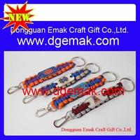 paracord survival key chain emergency survival gear key chain