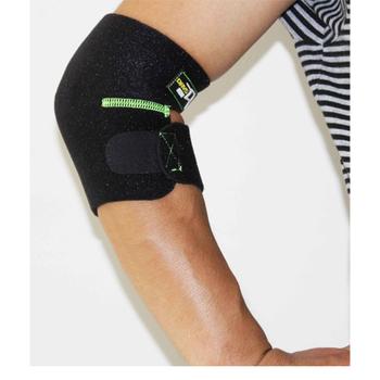 Chronometric outside sport elbow support lengthen ride basketball badminton armguards flanchard