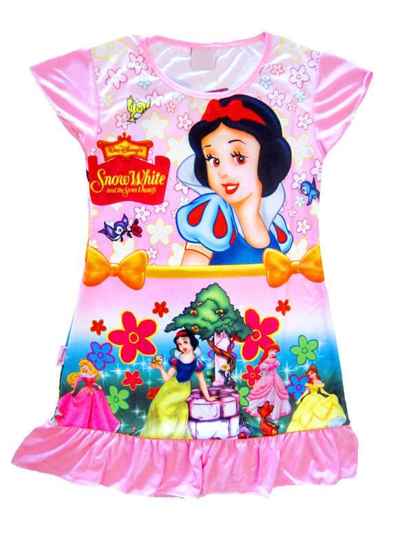 7727 8 pieces in 1 lot baby sleepwear nightgowns FREE SHIPPING sleep children's night dress little girl's girls pink bathrobes(China (Mainland))