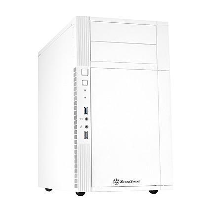 HTPC ITX Mini PC Computer Silverstone ps07w white version of mini desktop computer case matx usb3.0 line(China (Mainland))