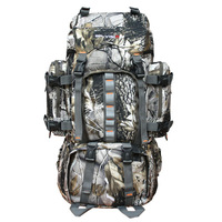 Outdoor backpack mountaineering bag 60l off-road backpack free shipping