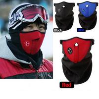 Free Shipping 10pcs/lot Neoprene Neck Warm Half Face Mask Winter Veil Guard Sport Bike Bicycle Motorcycle Ski Snowboard