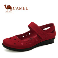 CAMEL women's genuine leather fashionable and  comfortable single shoes girls' sandals