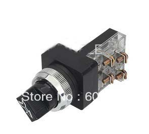 push button switch,2 or 3 position selector rotary switch KB3-3011X(China (Mainland))