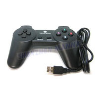 30PCS/LOT FREE SHIPPING Black New Wired USB 2.0 10 keys Game Controller Joystick Gamepad For PC Computer #EC033