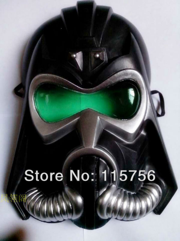 Free shipping Masquerade Rubies movie Star Wars mask darth vader mask 20pcs/lot(China (Mainland))