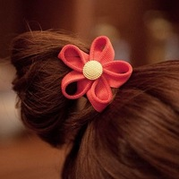 New arrival hair accessory flower hair rope hair accessory fashion metal headband tousheng hair accessory