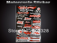 Wholesale Sport Racing F1 Combination Logo Car Decal Motorcycle Sticker