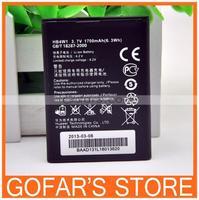 1700mah HB4W1 Battery for Huawei Y210C U8951D C8813 C8812D T8951 G510 G520 50pcs/Lot Top Quality